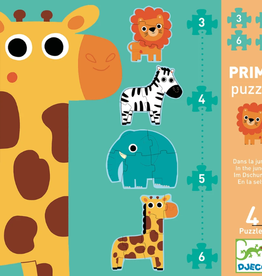 Djeco Progressive Puzzle: In the Jungle
