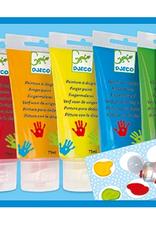 Djeco 6 finger paint tubes
