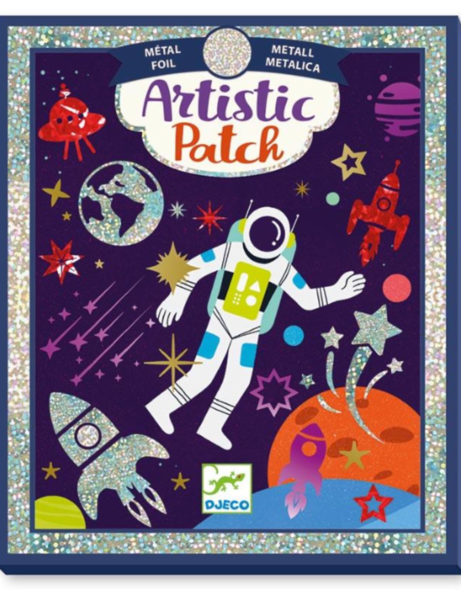 Djeco Artistic Patch: Cosmos Matellic