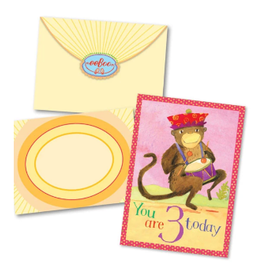 eeBoo Card: Third Birthday