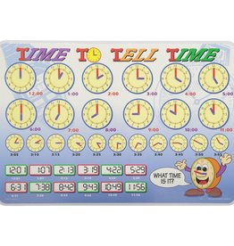 Castle Toys Placemat: Telling Time