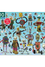 eeBoo 100pc-Puzzle: Upcycled Robots