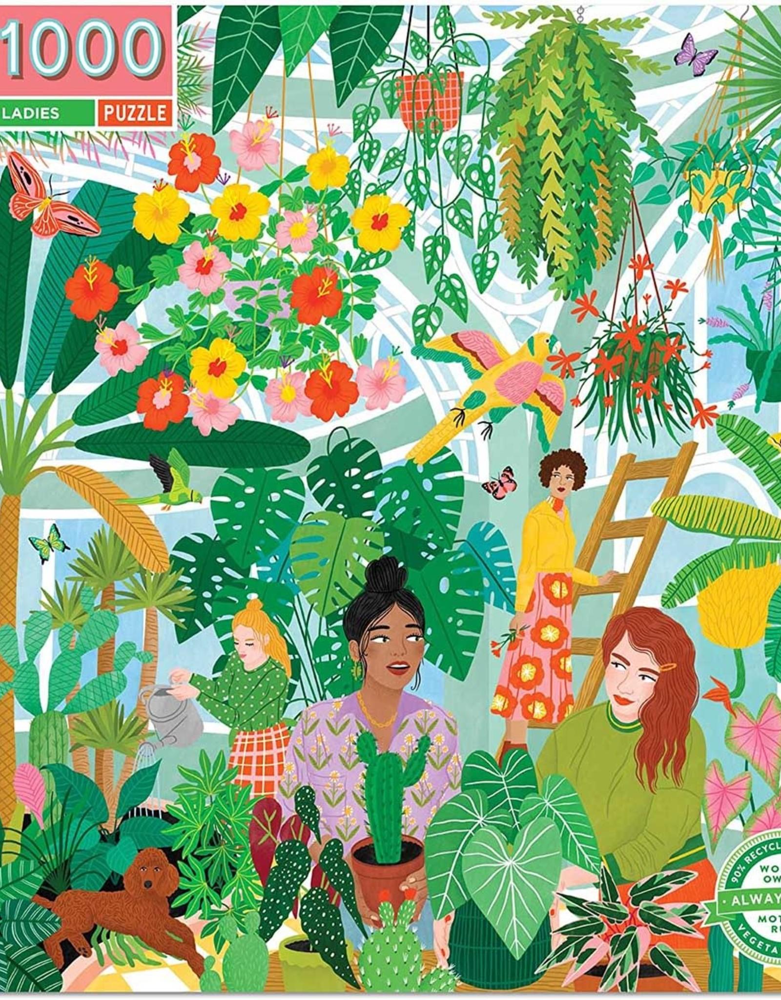 eeBoo 1000pc-Puzzle: Plant Ladies