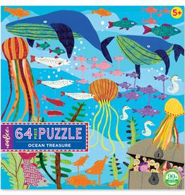 eeBoo 64 pc Puzzle: Ocean Treasure