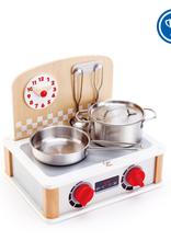 Hape 2-in-1 Kitchen & Grill Set