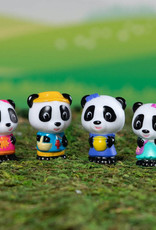 Fat Brain Toy Co Timber Tots: Panda Family (set of 4)