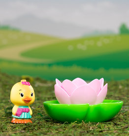 Fat Brain Toy Co Timber Tots: Lite-up Water Lily
