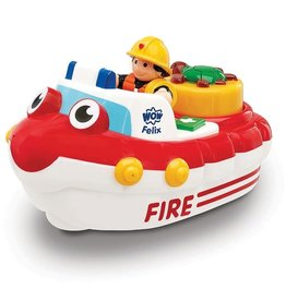 WOW Fireboat Felix (bath toy)