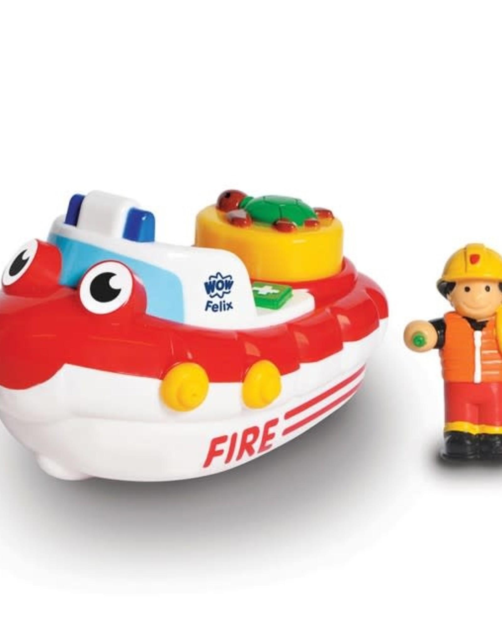 WOW Fireboat Felix (bath toy)