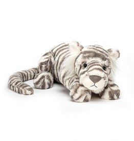 Jellycat Sacha Snow Tiger: Really Big 33""