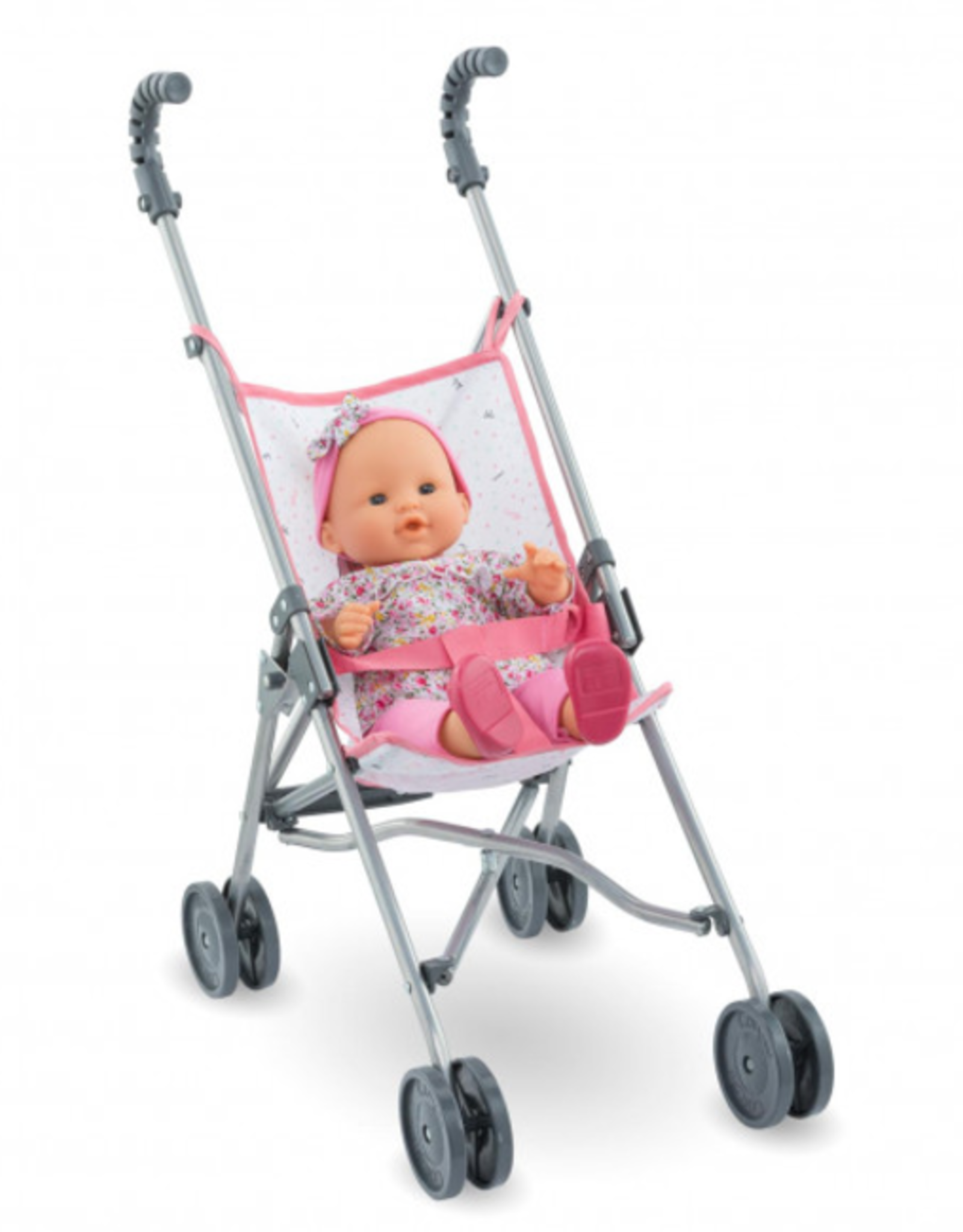 Corolle Umbrella Stroller: Pink