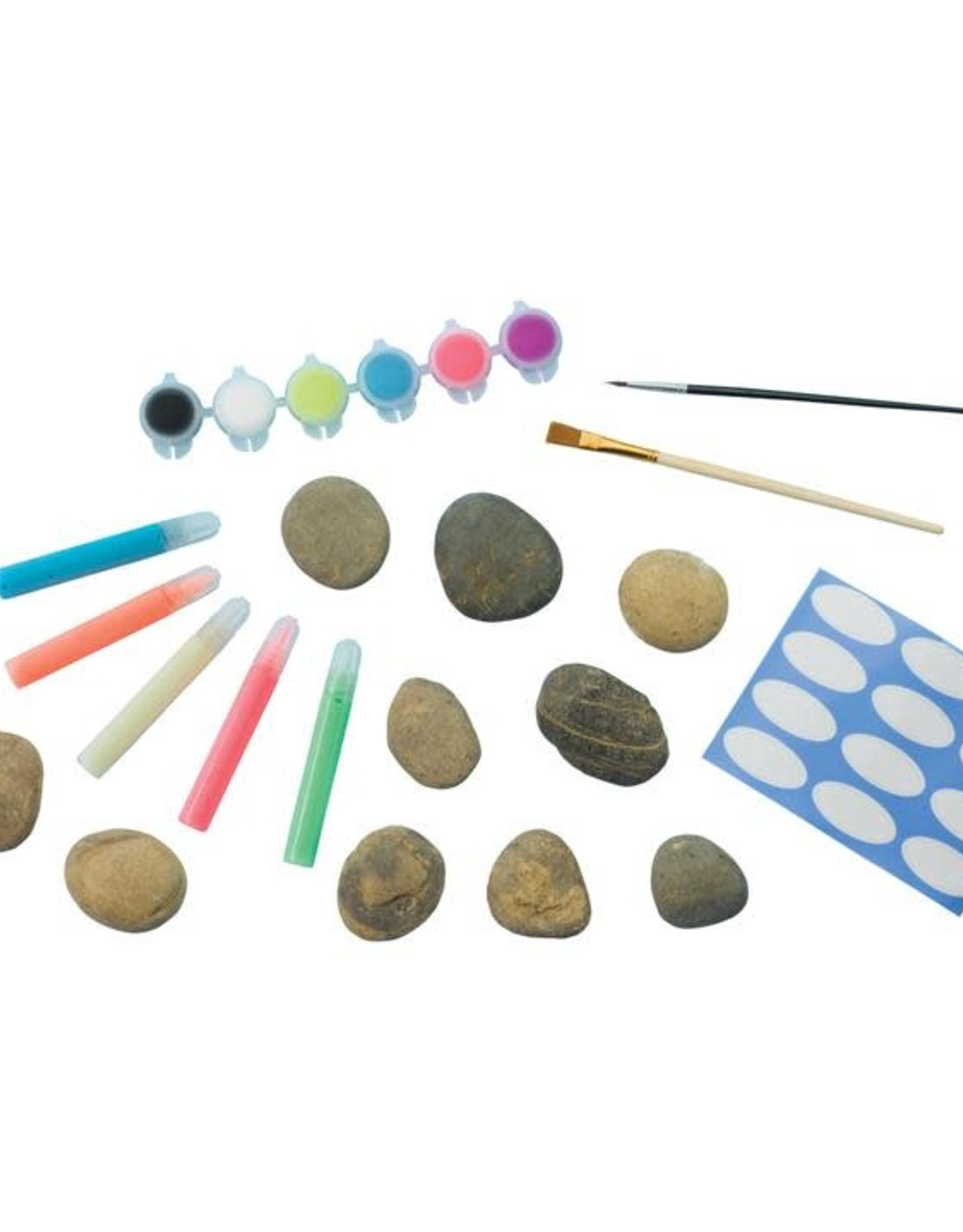 Faber-Castell Glow in the Dark Rock Painting Kit