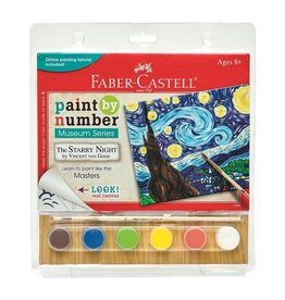 Faber-Castell Paint By Number Museum Series-The Starry Night