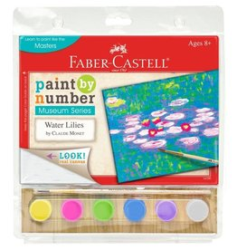 Faber-Castell Paint By Number Museum Series-Water Lillies