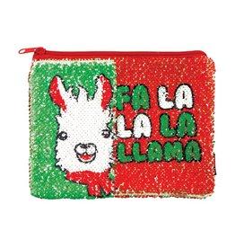 Fashion Angels Magic Sequins Pouch: Fa La La La Llama