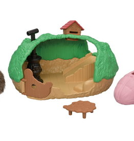 Epoch Everlasting Play Baby Hedgehog Hideout