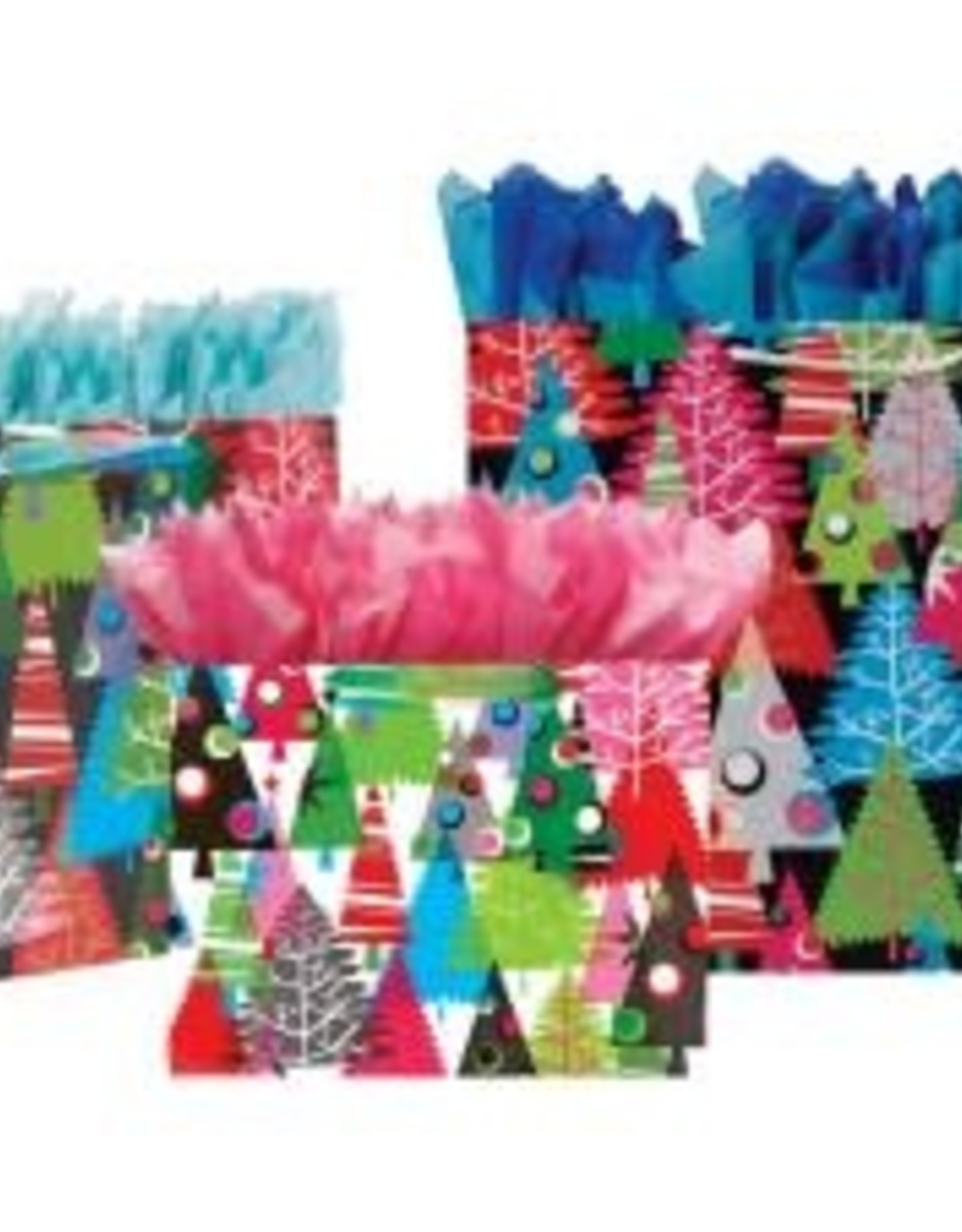 Gift Wrap: Neon Trees, 12x5x10