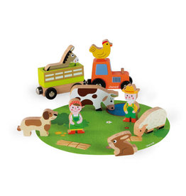 Janod Small Set: Farm
