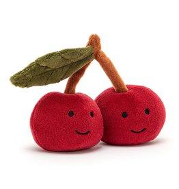 "Jellycat Fabulous Fruits: Cherry 4"""
