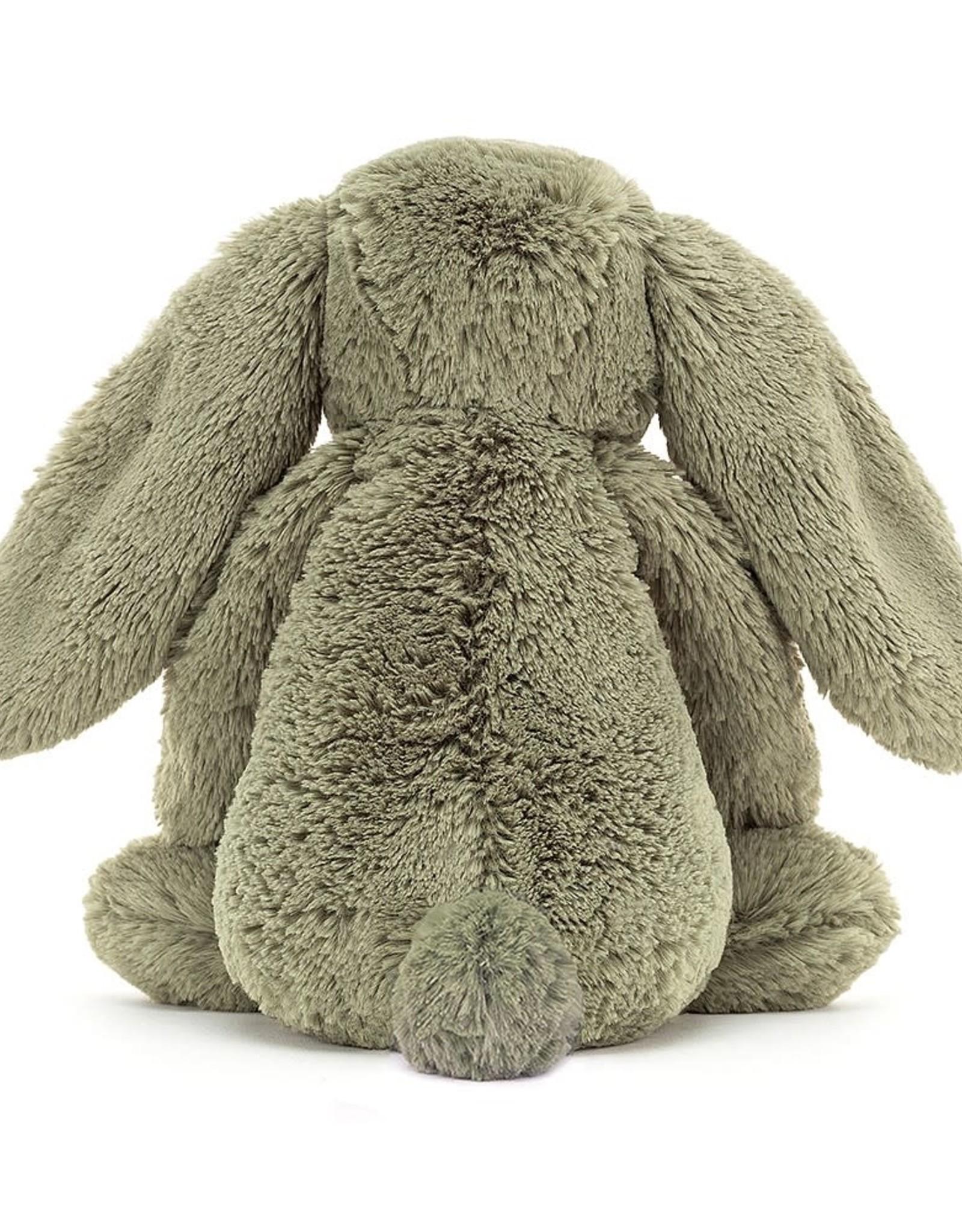 """Jellycat Bashful Fern Bunny: Medium 12"""""""