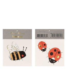 Meri Meri Tattoo: Bee & Ladybug