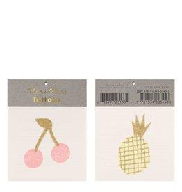 Meri Meri Tattoo: Cherry & Pineapple