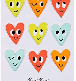 Meri Meri Puffy Stickers: Happy Heart