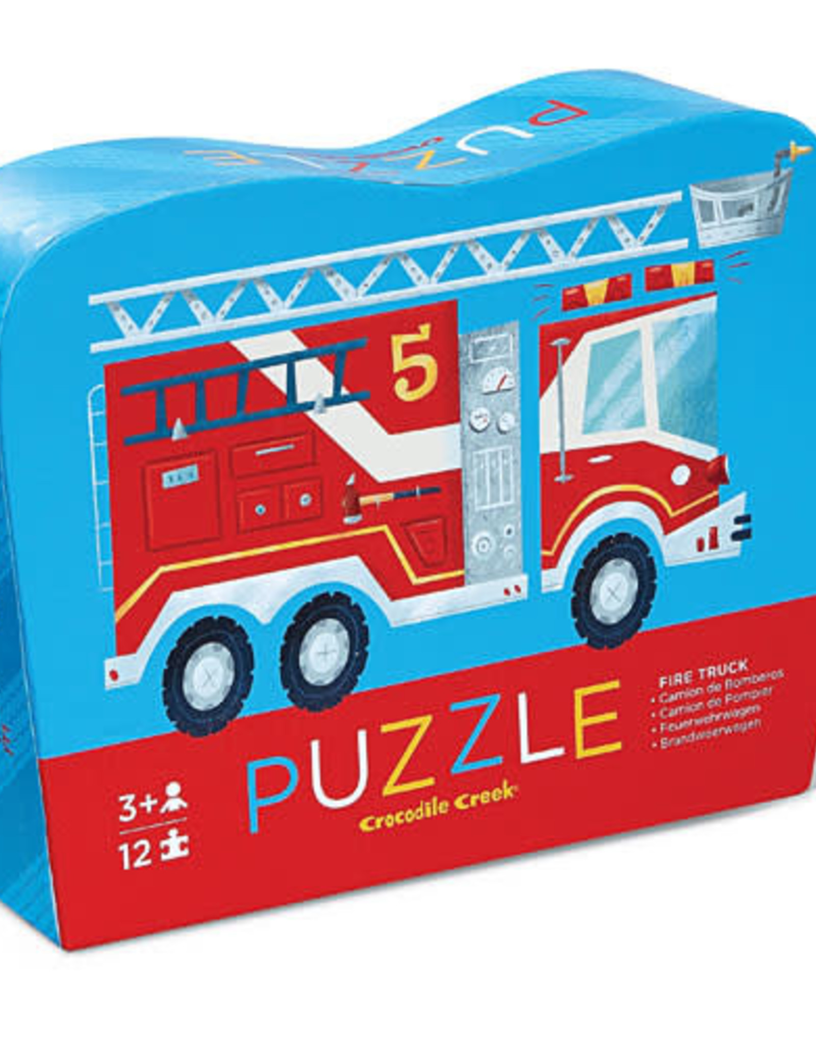 Crocodile Creek 12pc Mini Puzzle: Fire Truck
