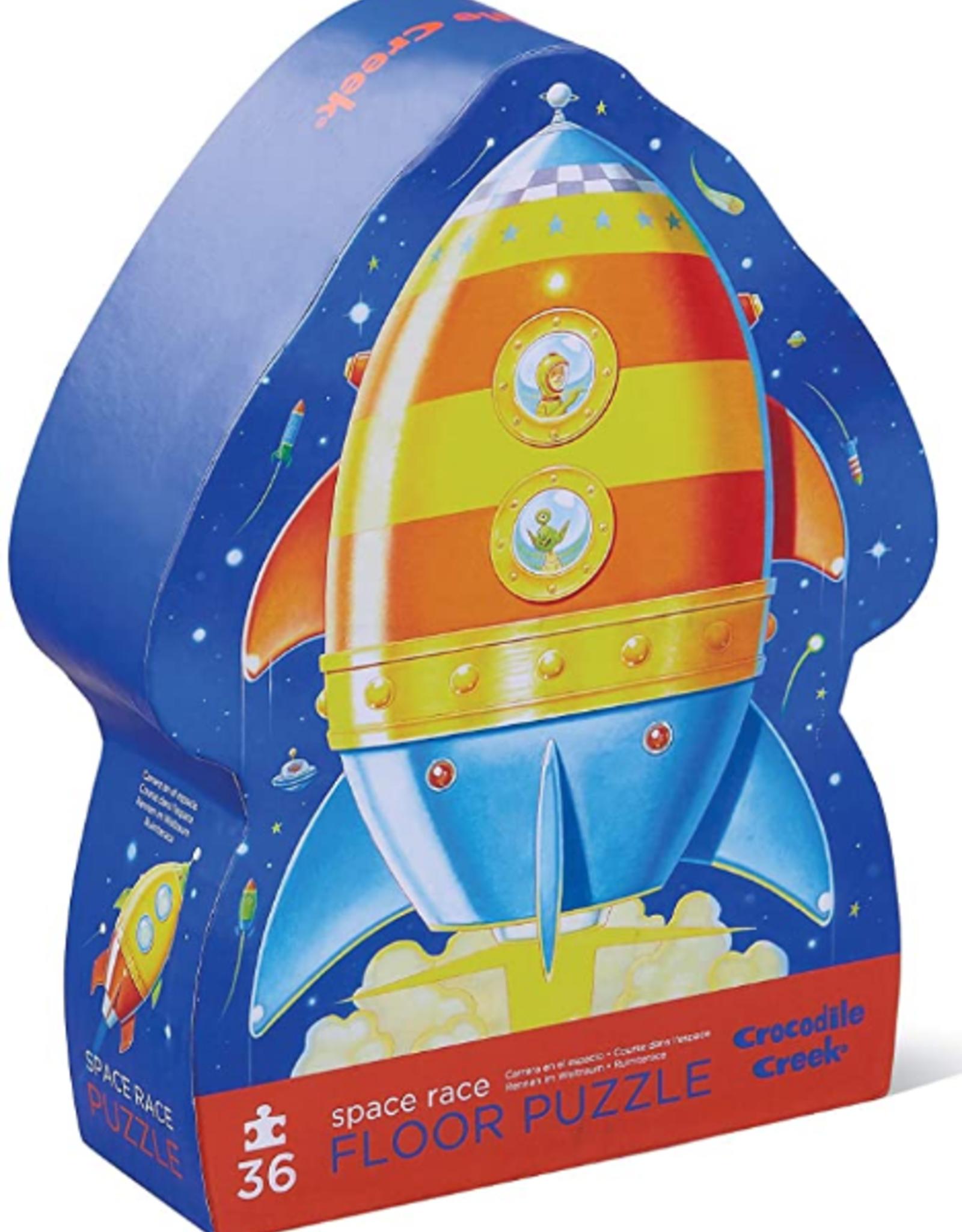 Crocodile Creek 36pc Puzzle: Space Explorer