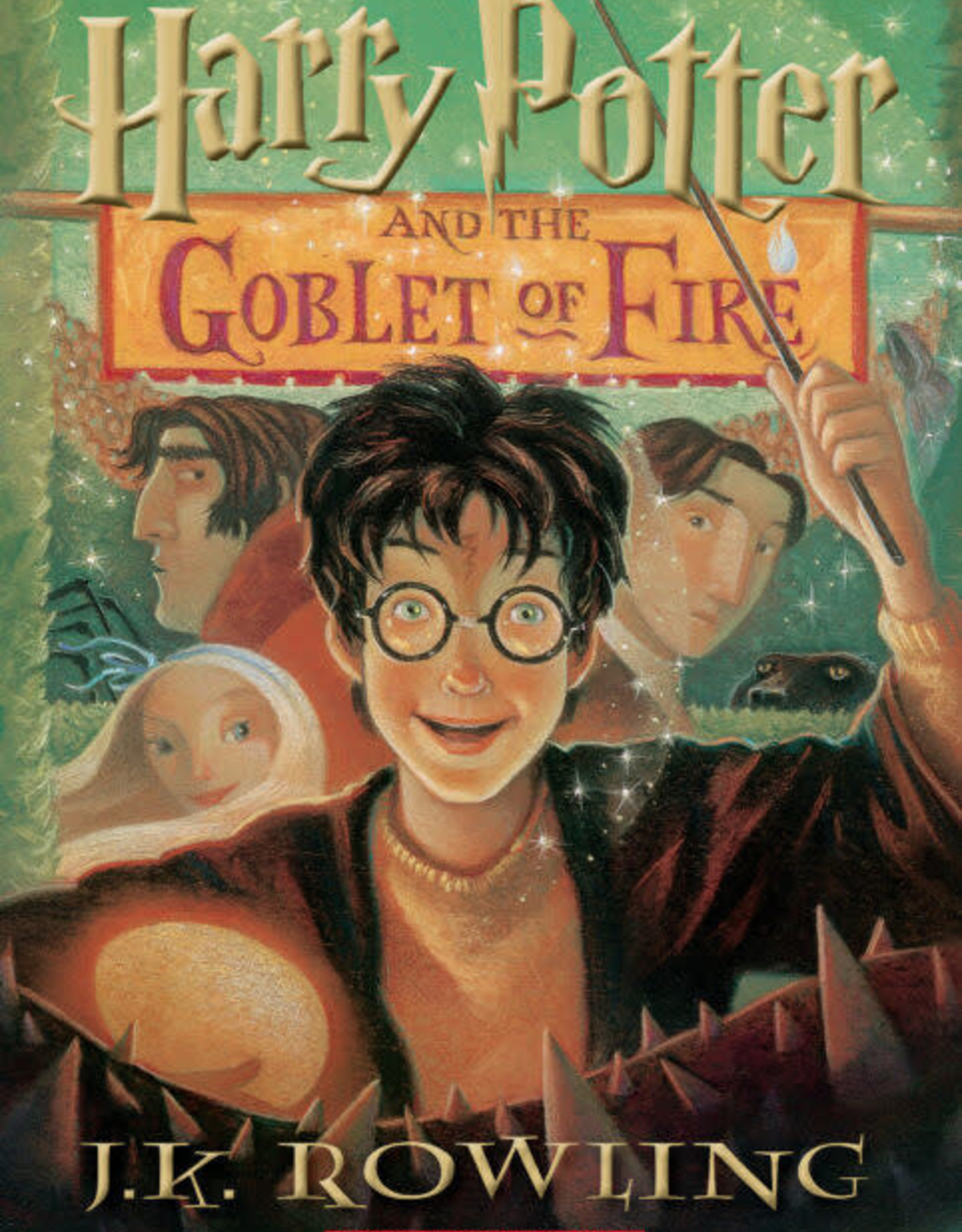 Scholastic Harry Potter and the Goblet of Fire