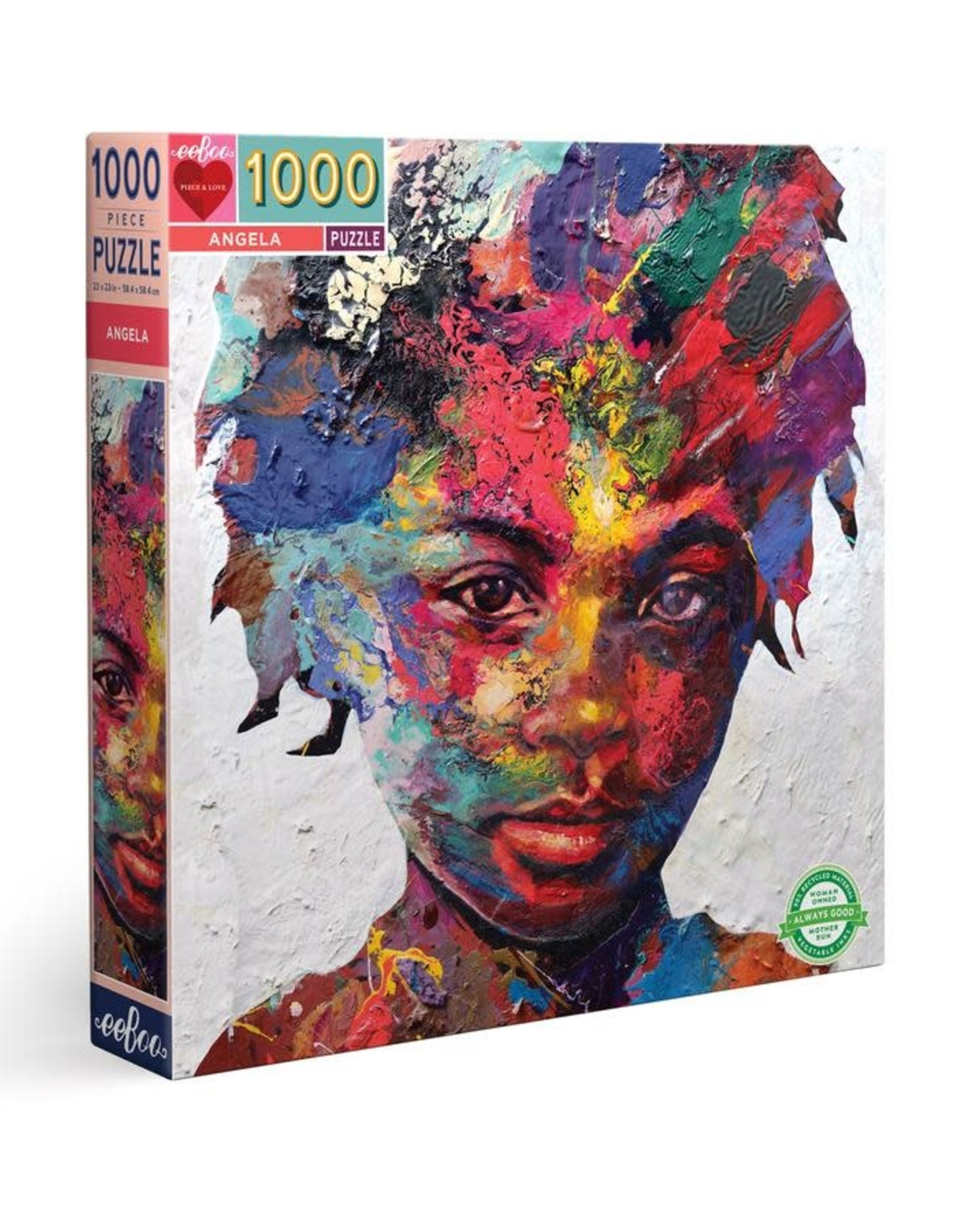 eeBoo 1000pc-Puzzle: Angela