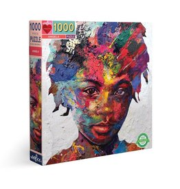eeBoo 1000pc-Puzzle: Angela