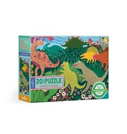 eeBoo 20pc-Puzzle: Dinosaur Friends