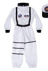 Creative Education Astronaut Set Includes Jumpsuit, Hat & ID Badge, Size 5-6