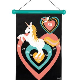 DAM Magnetic Darts Unicorn with glitter Large