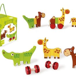 DAM Magnetic Rolling Safari Animals