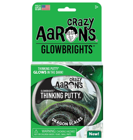 "Crazy Aaron's Putty World Glow 4"": Dragon Scales"
