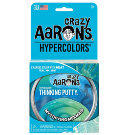 Crazy Aaron's Putty World Hypercolor: Mystifying Mermaid 4""