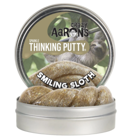 "Crazy Aaron's Putty World Sparkle 4"": Smiling Sloth"