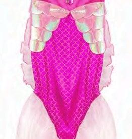 Creative Education Mermaid Glimmer Skirt w/Tiara, Pink, Size 5-6