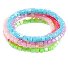 Creative Education Tints Tones Rainbow 5 Pcs Bracelet Set