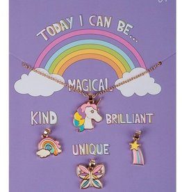 Creative Education Today I Can Be MKBU Charm 5pc Necklace