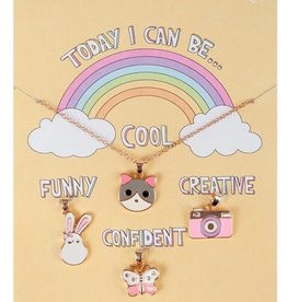 Creative Education Today I Can Be CFCC Charm 5pc Necklace