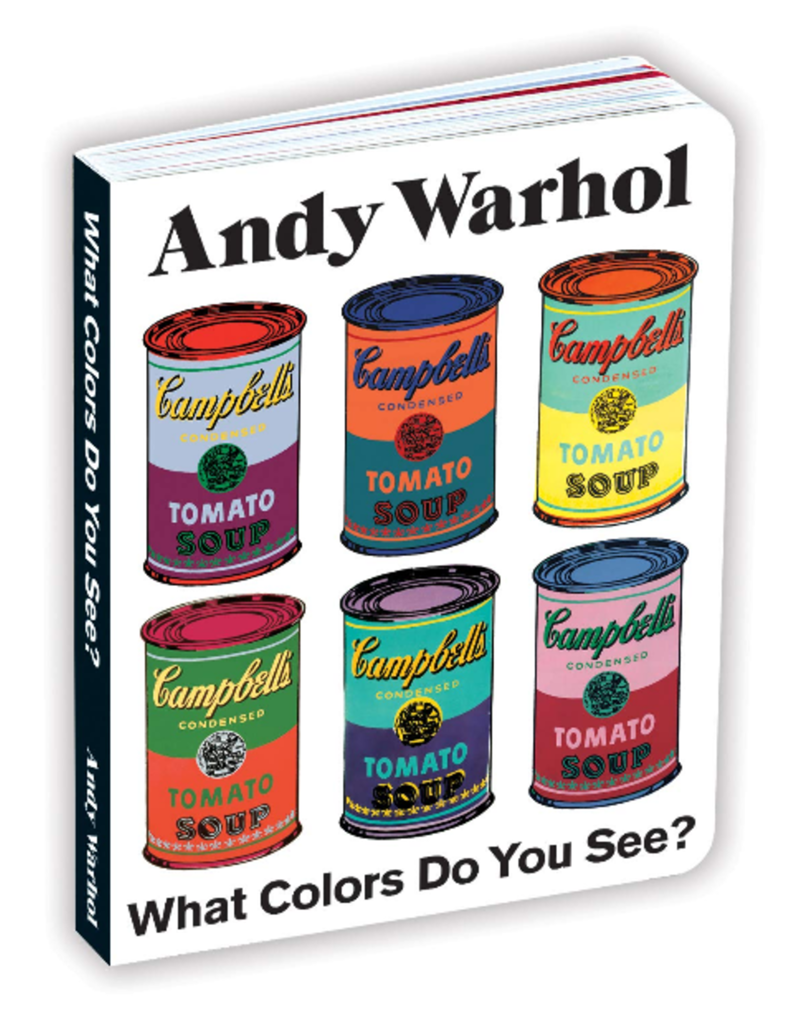 Chronicle Books Andy Warhol-What Color Do You See