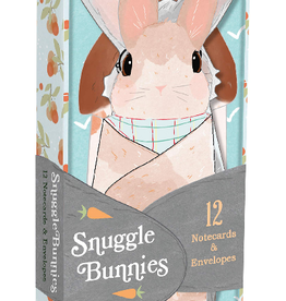 Chronicle Books Snuggle Bunny Notecards