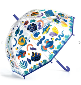 Djeco Umbrella: Fishes Color-Changing