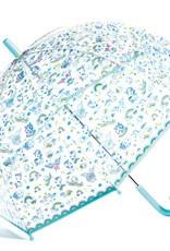 Djeco Umbrella: Clear Unicorns
