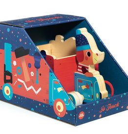 Djeco Pull Toy: Jo Truck