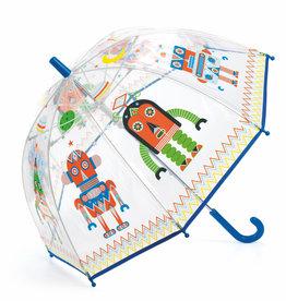Djeco Umbrella: Clear Robots