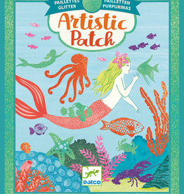 Djeco Artistic Patch: Ocean Glitter